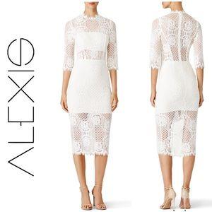 Alexis Miller Lace Dress sz 2 EUC